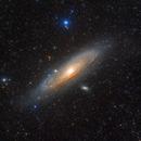 M31 LRGB 64-megapixel,                                Byoungjun Jeong
