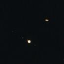 Jupiter Saturn Conjuction December 21, 2020 Wider Shot,                                mikefulb