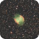 M27 – The Dumbbell Nebula in the Vulpecula constellation,                                Angelo F. Gambino