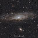 Andromeda galaxy,                                Florian Bernard