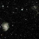 NGC 6946 et NGC 6939,                                Roger Bertuli