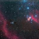 IC 434 (Horsehead Nebula),NGC 2023,NGC2024 (Flame Nebula) ,M78 ...,                                Denis Kan