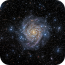 Hidden Galaxy IC342,                                marsbymars
