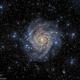 Hidden Galaxy IC342,                                marsbymars