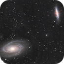 M81/82 with SN2014J and IFN,                                Andre van der Hoeven