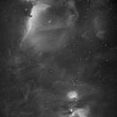 Central Orion (H-alpha),                                Sung-Joon Park