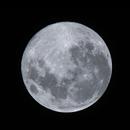 """April 2020 Super """"Pink"""" Moon,                                Scott Iver"""