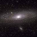 My first M31 from a dark site,                                Joseph Becker
