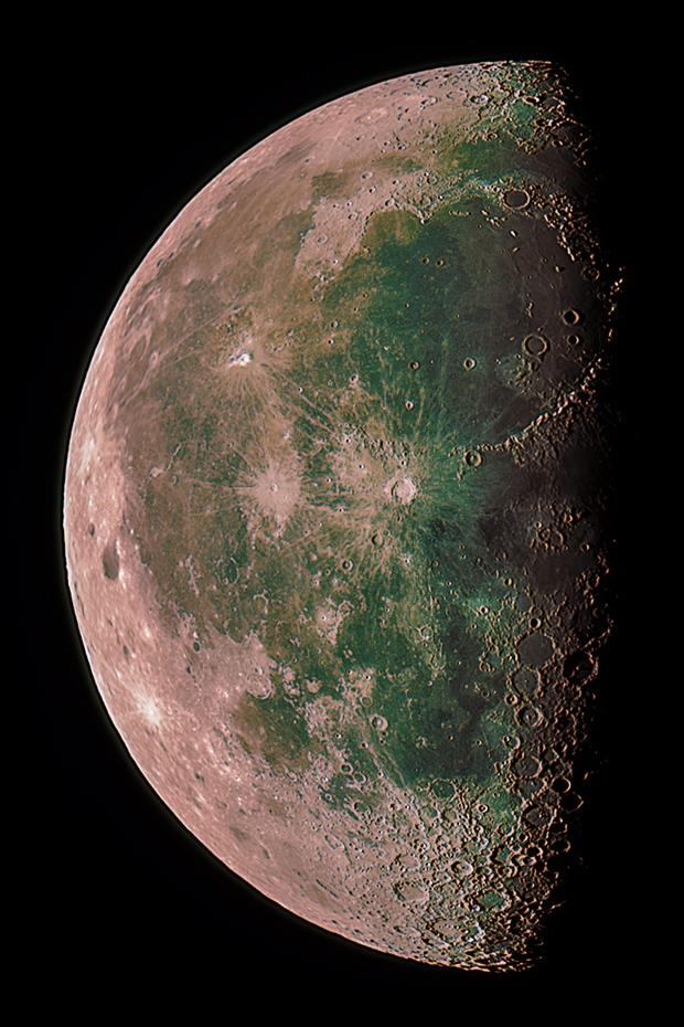 Moon in color,                                Franz Grapke