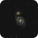 M - 51 - NGC 5194,                                Carles Zerbst