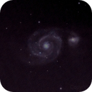M51 Whirlpool 2 sessions combined 7/8/2013,                                StarGale