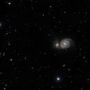 M51 - The Whirlpool Galaxy,                                Jason Hissong