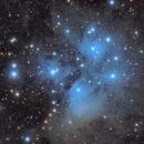 M45 Pleiades LRGB,                                Sergiy_Vakulenko