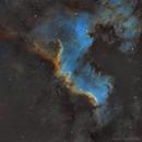 NGC 7000 - The Cygnus Wall 4 Panel Mosaic,                                Brad