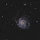 M101  T 150/750  /  ATIK ONE  /  AZEQ5,                                Pulsar59