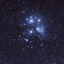 Messier 45, Pleyades,                                esprit