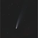 Comet C/2020 F3 (NEOWISE), Canon EOS 6D Mk2, 20200711,                                Geert Vandenbulcke