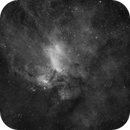 IC4628, The Prawn Nebula - Ha data,                                Eduardo Oliveira
