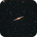 NGC 891 Edge on Spiral  Galaxy in Andromeda,                                Elmiko