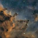 Inside the Heart Nebula (IC 1805),                                sky-watcher (johny)