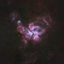 NGC3372 Carina Nebula (wide view),                                Peter Jenkins