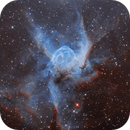 NGC 2359 Thor's  Helmet  Nebula - HOO,                                noodle
