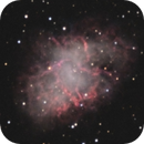 M1 Crab nebula,                                CoFF