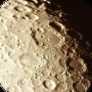 Ein Bild aus der Vergangenheit - Mondkrater Clavius und Umgebung,                                astrobrandy