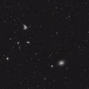 Galaxies Siamoises NGC4567+4568 et M58,                                Vincent F