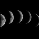 the moon till 1st Quarter 26/3 - 1/4 2020,                                John van Nerum