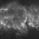 Soul Nebula in broadband H-alpha,                                Marcel Drechsler