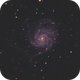 M101 The Pinwheel Galaxy,                                Slice1969