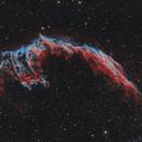 The Eastern Veil Nebula (HaOiiiRGB),                                lefty7283