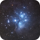 M45 with Canon RA and Astro-Physics 92mm,                                Jeff Ball