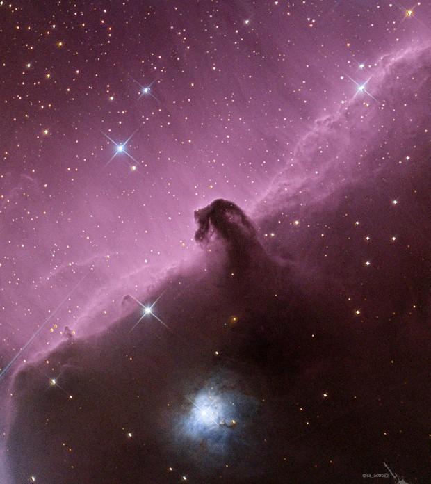 The Horsehead Nebula,                                Todd