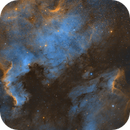 NGC 7000 and Pelican Nebula wide field,                                Russell McKenzie