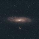 Andromeda galaxy,                                Lovag Tamás
