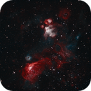 NGC 2032 - Bi Colour,                                George Varouhakis