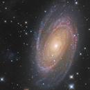 M81 LRVB + Halpha,                                Mathieu Guinot