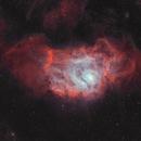 M8 Lagoon nebula in HOO,                                Jean-François Douroux