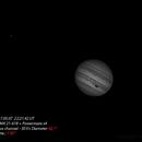 Jupiter avec le filtre Bleu ,                                FranckIM06