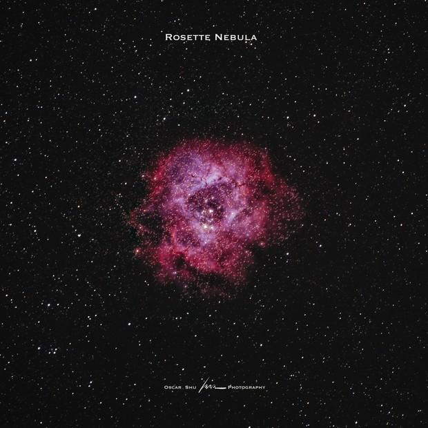 Rosette Nebula,                                Oscar Shu