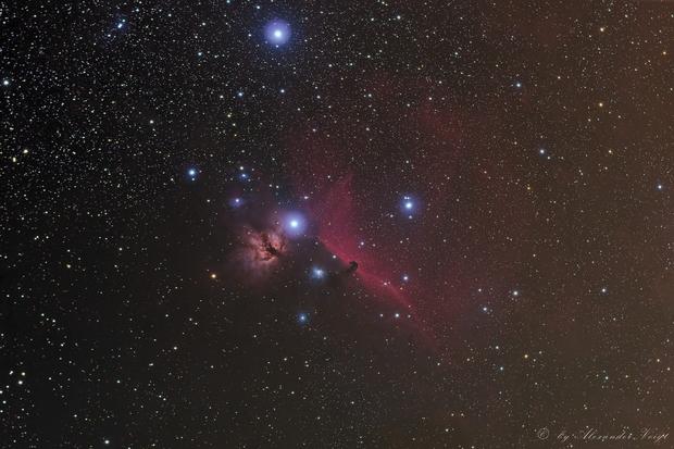 Horsehead Nebula,                                Alexander Voigt