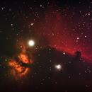 Horse Head and Flame Nebula,                                Awesom-O
