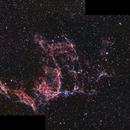 Eastern Veil Nebula,                                Gordon Hansen