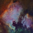NGC7000 and IC5070,                                Tim Hutchison