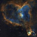 IC1805 Heart Nebula in SHO,                                Derek Foster