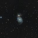 M051 Whirlpool Galaxy,                                Astro-Wene