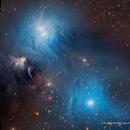 Stars and Dust in Corona Australis  APOD 2017 October 18,                                Eric Coles (coles44)