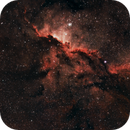 NGC6188 - Fighting Dragons Of Ara Nebula,                                Cluster One Observatory